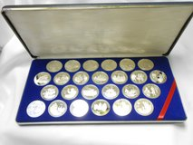 british virgin islands , the discovery of america, 500th anniversary coin set in Camp Lejeune, North Carolina