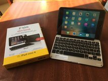 iPad mini 4 w/ ZAGG slim book keyboard/case in Temecula, California