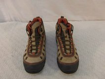 adult men's merrell chameleon brown orange 9 lace up hiking shoes 33777 in Huntington Beach, California