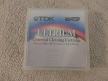tdk ultrium universal cleaning cartridge gray 1, 2, 3, 4 drives d2404-cc  33784 in Huntington Beach, California