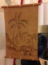 Bamboo wall hanging Elephant Jungle in Vacaville, California