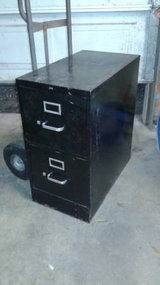 Black Metal File Filing Cabinet in The Woodlands, Texas