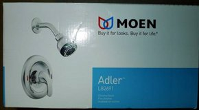 Moen Adler 2-Spray 1-Handle Shower Only Faucet with Valve in Chrome in Naperville, Illinois