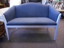 Classic Blue and Gray Loveseat in Elgin, Illinois