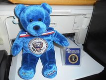 Holy Bears Bean Bag Bear- COMMANDER IN CHIEF  PRESIDENT in Bellaire, Texas