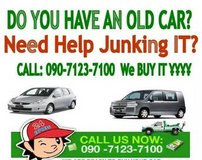 WE BUY JUNK VEHICLES...WE BEAT ALL QUOTES - 090-7123-7100 in Okinawa, Japan