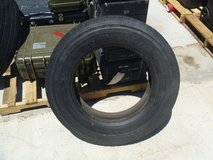 one well used 8 r 19.5 bridgestone regrooveable truck 8r19.5 great swing! 80308 in Fort Carson, Colorado