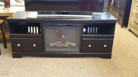 BLACK TV STAND/FIREPLACE in Pearl Harbor, Hawaii