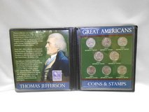 first commemorative mint , thomas jefferson great american coins & stamps in Camp Lejeune, North Carolina