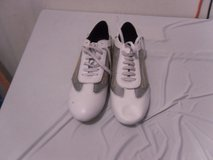 classy mens 10 louis vuitton  white leather sneakers shoes 40846 in Fort Carson, Colorado