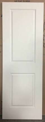 "Masonite 28"" x 80"" Smooth 2-Panel Solid Core Primed Composite Door in Chicago, Illinois"