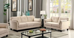Flannelette Sofa in Beige (other colors and options) FREE DELIVERY in Oceanside, California