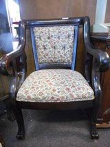 Antique Floral Chair in Elgin, Illinois