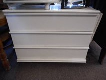 Contemporary White 2 Drawer Dresser in Bartlett, Illinois