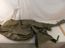 vintage military surplus m-127 overall cover dark brown button closed 33853 in Fort Carson, Colorado