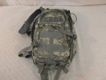 """us army acu military camouflaged zip up small 12"""" x 19"""" backpack 33839 in Fort Carson, Colorado"""