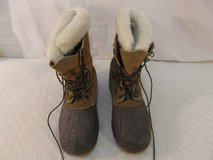 vintage adult men's sorel steel shank 10 brown leather winter lined boots 33836 in Fort Carson, Colorado