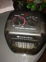 Comfort Zone Heater Portable Electric with Fan and safety switch off in Roseville, California