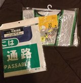 3 sets japan safety banner worker passable  - + safety vest construction in Okinawa, Japan