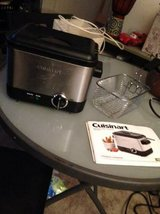 Cuisinart CDF-100 Compact 1.1-Liter Deep Fryer, Brushed Stainless Stee in Sacramento, California