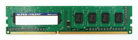 Super Talent DDR3-1600 4GB/256Mx8 CL9 Micron Chip Memory in Watertown, New York