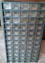 60 DRAWER ORGANIZER for nuts, bolts, screws, leggos, etc. in Glendale Heights, Illinois
