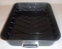 "New!  18"" Roasting / Bake Pan with V-Rack in Orland Park, Illinois"