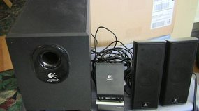 Logitech X-240 Computer Speakers with Subwoofer in Elgin, Illinois