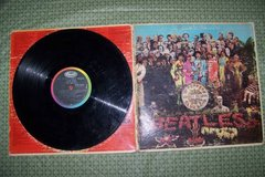 Beatles LP Records and 45 in Bartlett, Illinois