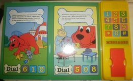 Clifford the Big Red Dog Telephone Book Interactive Sound Book & Phone in Glendale Heights, Illinois