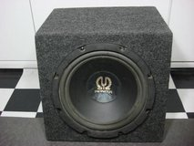 PIONEER 12 inch SUBWOOFER/SUB IMPP with ENCLOSURE BOX in Fairfield, California