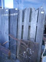 Section of Old Fence(s) in Elgin, Illinois