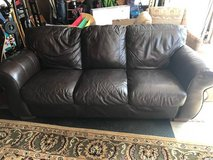 Leather Sofa Couch in Joliet, Illinois