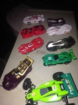 Toy Drag Racing Cars not sure if any are collectible in Roseville, California
