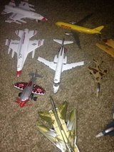 Toy airplanes most are metal some are plastic not sure if collectible in Vacaville, California