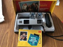 Vintage Kodak Pocket Instamatic 10 Camera with Original Box & Instructions in Plainfield, Illinois