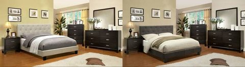 "New King Ivory or Charcoal Frame +12"" Bamboo Pillowtop FREE DELIVERY in Miramar, California"
