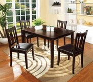 Espresso Dining Table + 4 Chairs Set FREE DELIVERY in Miramar, California