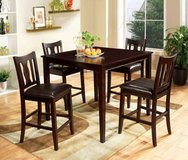Counter Height Northvale Dining Table with 4 Chairs FREE DELIVERY* in Miramar, California
