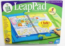 Leap Frog LeapPad Kids Learning System Tablet, Game Cartridges, Books in Chicago, Illinois