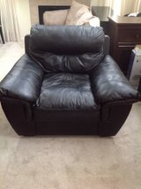 Black Leather Chair in Chicago, Illinois
