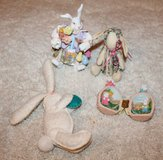 Four (4) Assorted Tabletop Bunnies - Great for Spring Decorating in Oswego, Illinois