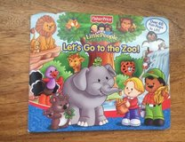 Fisher-Price Little People Let's Go To The Zoo!  A Lift-The-Flap Book w 40+ Flaps in Chicago, Illinois