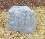 Large Resin River Landscape Rock Stone Cover Garden Yard Patio Decor in Naperville, Illinois