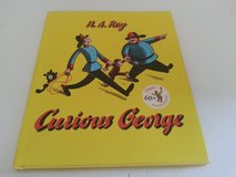RARE 1993 Curious George 60th Anniversary Edition Hard Cover Book in Chicago, Illinois