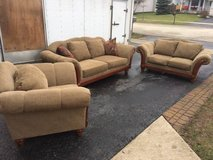 Klaussner couch, love seat & chair in Bolingbrook, Illinois