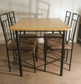 Dining Table w/4 Upholstered Chairs in Oak Harbor, WA