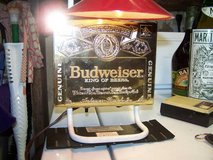 Budweiser Gold label desk lamp in Travis AFB, California