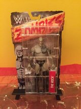 wwe zombie the rock figure in Shorewood, Illinois