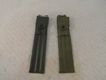 (2) military surplus olive drab green m1 three piece cleaning rod & case 33894 in Huntington Beach, California
